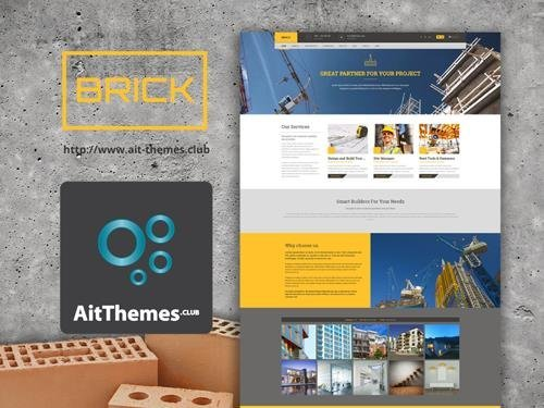 Ait-Themes - Brick v1.36 - WordPress Theme For Builders