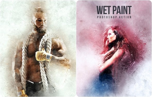 WetPaint - Photoshop Action 21241428