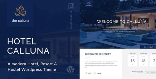 ThemeForest - Hotel Calluna v3.2.0 - Hotel & Resort & WordPress Theme - 12996510