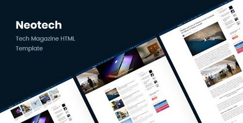 ThemeForest - Neotech v1.1 - Tech Magazine HTML Template - 21069707