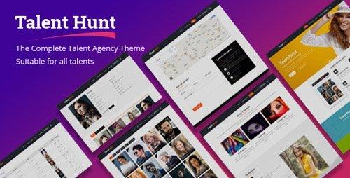 ThemeForest - Talent Hunt v1.0.0 - WordPress Theme for Model Talent Management Services - 3600987