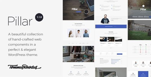 ThemeForest - Pillar v1.1.11 - Multipurpose Multi-Concept Responsive WordPress Theme - 17795788