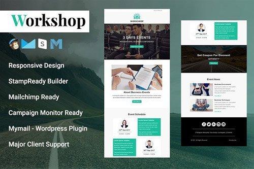 Workshop v1.0 - Responsive Email Template - CM 1842411