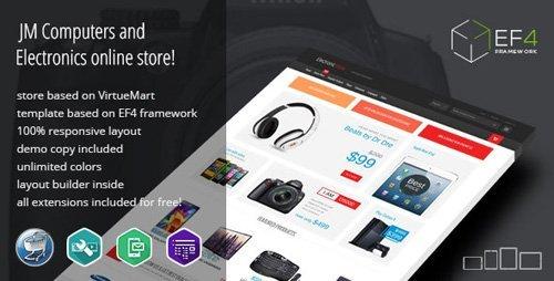 ThemeForest - Electronics v1.10 - multipurpose VirtueMart online store - 11137365