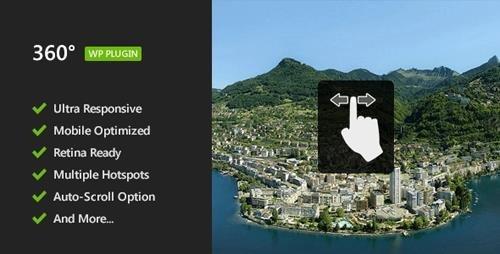 CodeCanyon - 360 Panoramic Image Viewer v1.3 - Responsive WordPress Plugin - 5054590