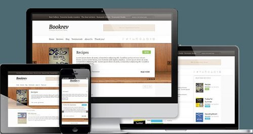 BookRev v1.1.6 - Book Review WP Theme - CM 206075