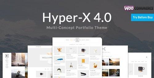 ThemeForest - HyperX v4.7.5 - Portfolio for Freelancers and Agencies - 13439786