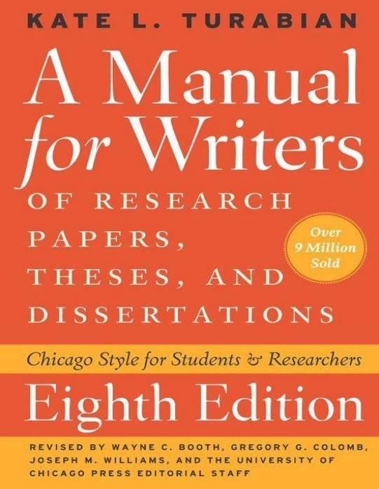 handbook for writers of research papers theses and dissertations