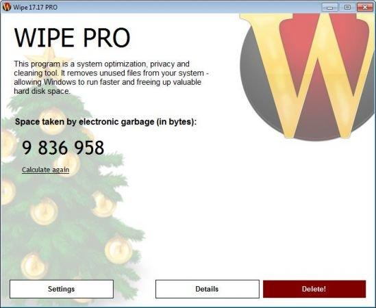 Wipe Pro 17.18 Multilingual