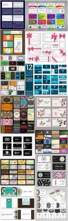 Different Business Card Set - 15 Vector