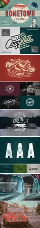 Hometown Vintage PSD Effects Pack
