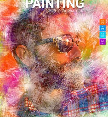 Painting Photoshop Action 21194079