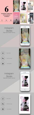 6 Wedding Dresses Instagram Stories - CM 2177223