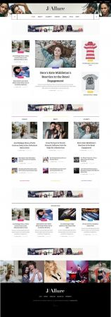 JoomlArt - JA Allure v1.0.0 - Creative Joomla Template for beauty and fashion magazine websites