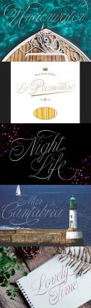 Nautica Sottile Font Family