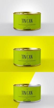 PSD Mock - Up - Tin Can