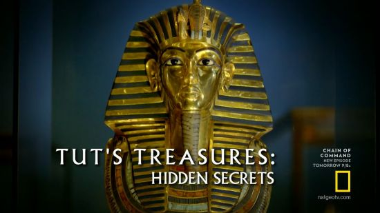 National Geographic - Tut's Treasures Hidden Secrets (2018) 720p HDTV x264-DHD