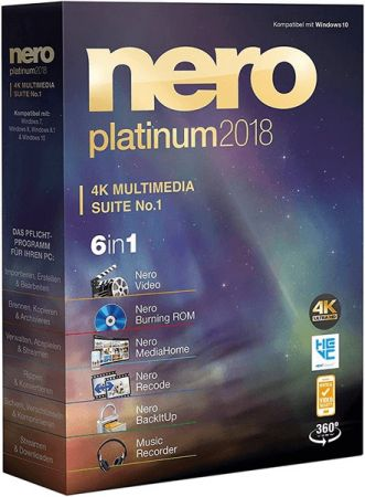 Nero Platinum 2018 Suite 19.0.10200 Multilingual