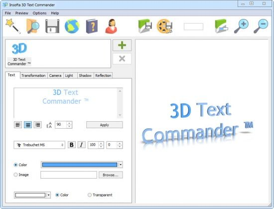 Insofta 3D Text Commander 5.2.0 Multilingual + Portable