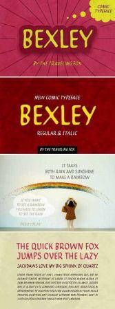 Bexley - comic typeface 2121649