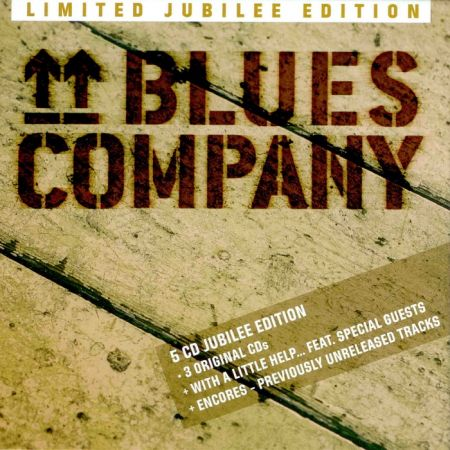 Blues Company - Limited Jubilee Edition [5CD Box set] (2017)