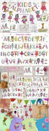Kids alphabet 2137452