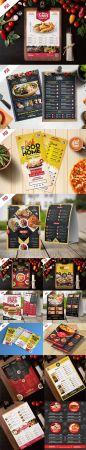 Fast Food Restaurant Menu - 10 Flyer PSD Templates