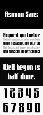 Asimov Sans Font