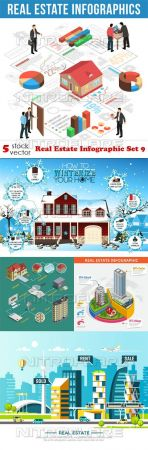 Vectors - Real Estate Infographic Set 9