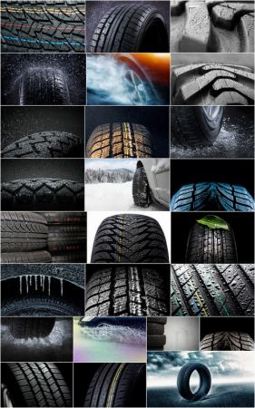 Rain water wheel car winter tire tread pattern rubber tire 25 HQ Jpeg