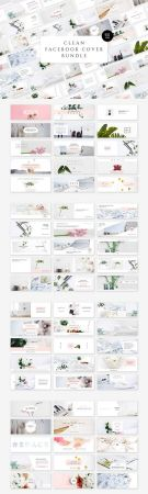 Clean Facebook Cover Bundle - CM 1810926