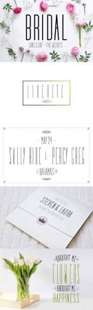 Bridal Sans Serif - Multi Weight 1487905