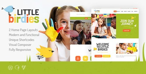 ThemeForest - Little Birdies v1.1.1 - Multipurpose Children WP Theme - 19757699