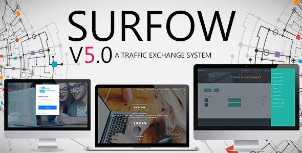 CodeCanyon - Surfow v5.0 - Traffic Exchange System