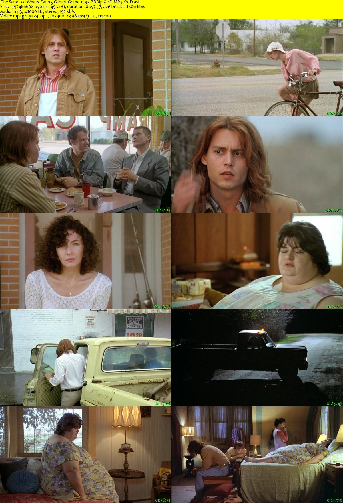 a review of the story whats eating gilbert grape Discussion questions: 1 what is eating gilbert grape answer for the time, up until his mother dies suggested response: there are many ways to express the answer each of which can be turned into a discussion of a theme from the film.