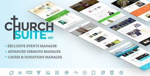 ThemeForest - Church Suite v2.3.3 - Responsive WordPress Theme - 11926115