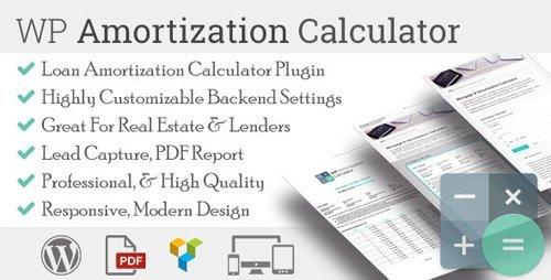 CodeCanyon - WP Amortization Calculator v1.1.11 - 13004942