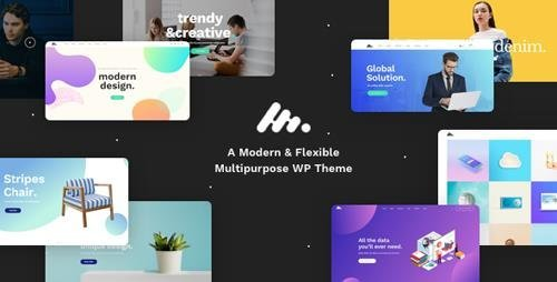 ThemeForest - Moody v1.1.3 - A Modern & Flexible Multipurpose WordPress Theme - 20524765