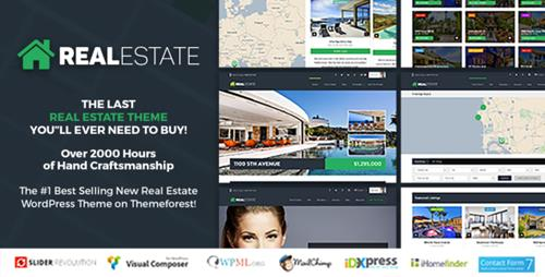 ThemeForest – Real Estate 7 v2.7.4 – Real Estate WordPress Theme