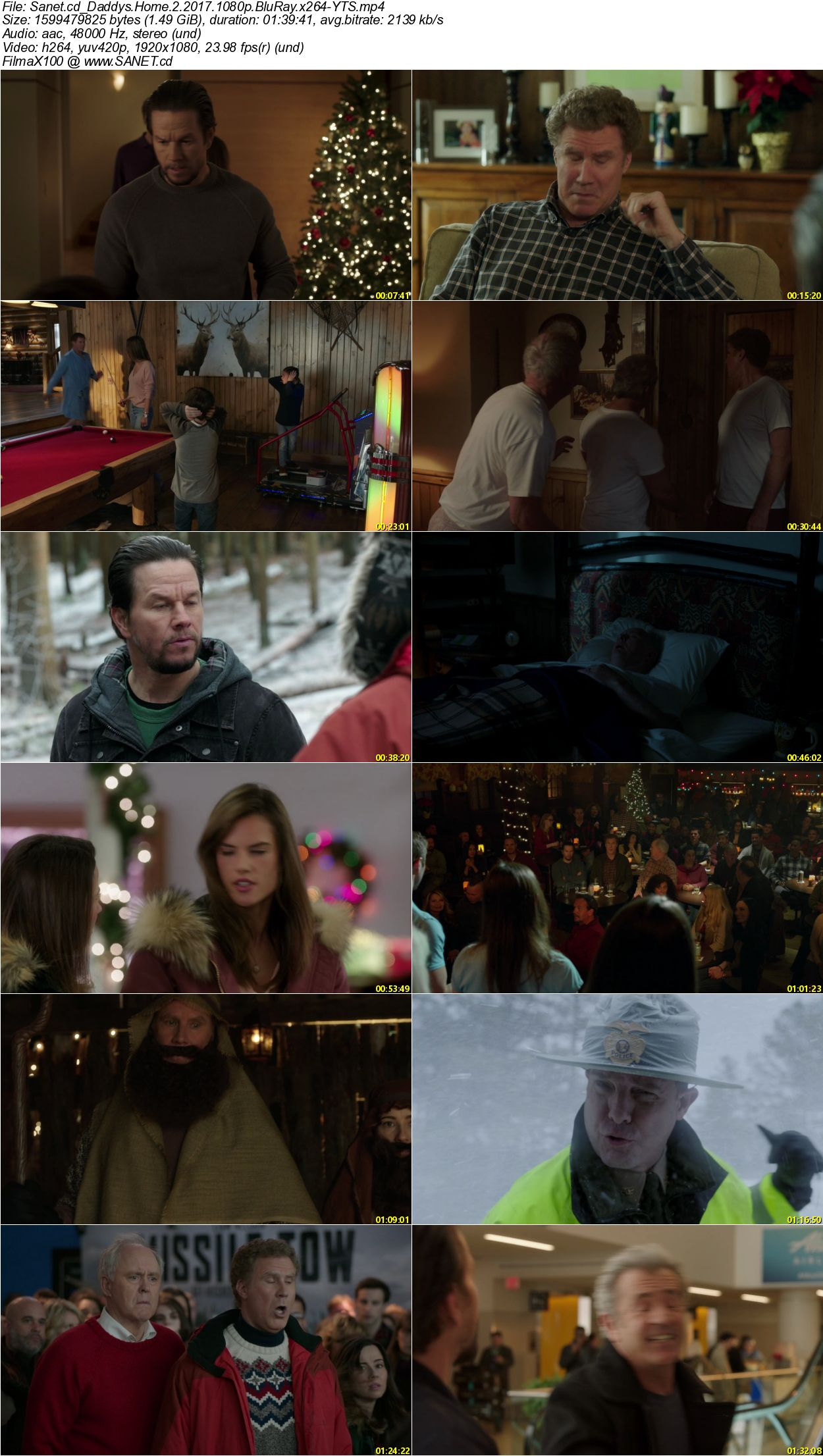 Download Daddys Home 2 2017 1080p Bluray X264 Yts Softarchive