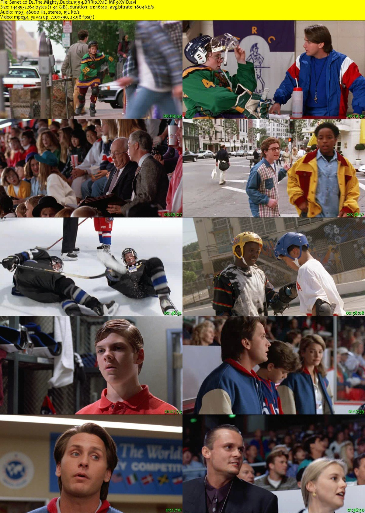 download d2 the mighty ducks 1994 brrip xvid mp3xvid