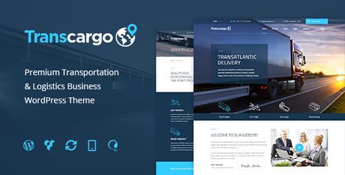 Transcargo v1.9 – Transport WordPress Theme for Transportation, Logistics and Shipping Companies