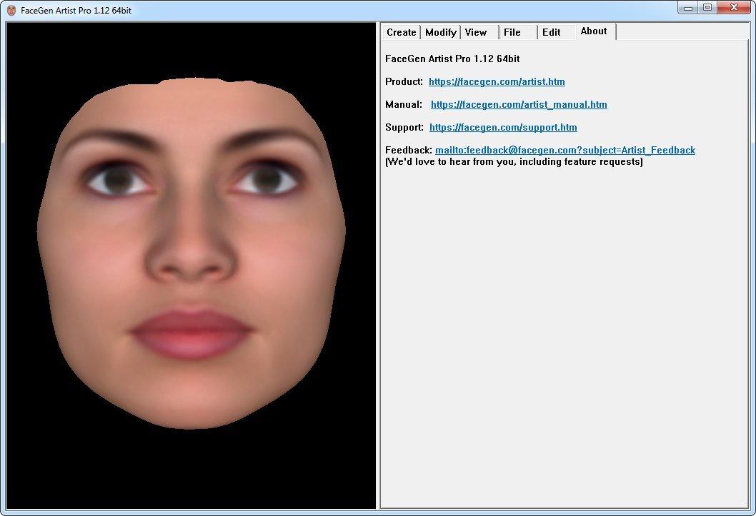 Download Singular Inversions FaceGen Artist Pro 1 12 - SoftArchive