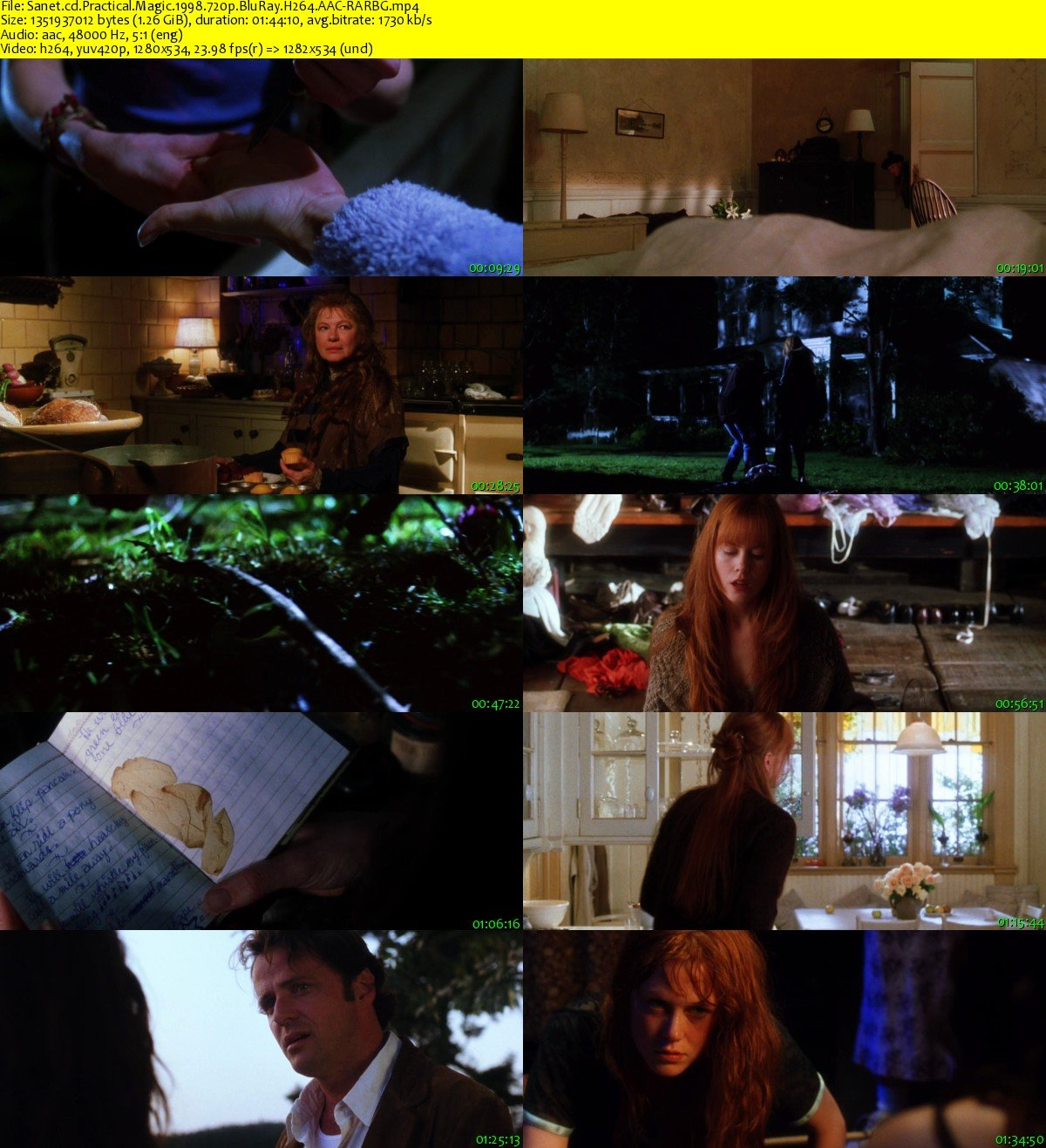 an analysis of practical magic in 1998 Friday, october 16, 1998  practical magic is the story of the two owens sisters, dark-haired sally (sandra bullock) and extravagantly auburn gillian.