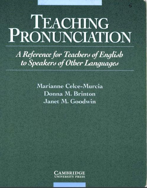 Teaching Pronunciation Celce Murcia Pdf