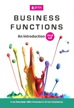 R du Toit, A van Noordwyk, J van Zyl – Business Functions, Second Edition