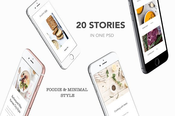Download Instagram Stories Pack - Foodie 2247834 - SoftArchive