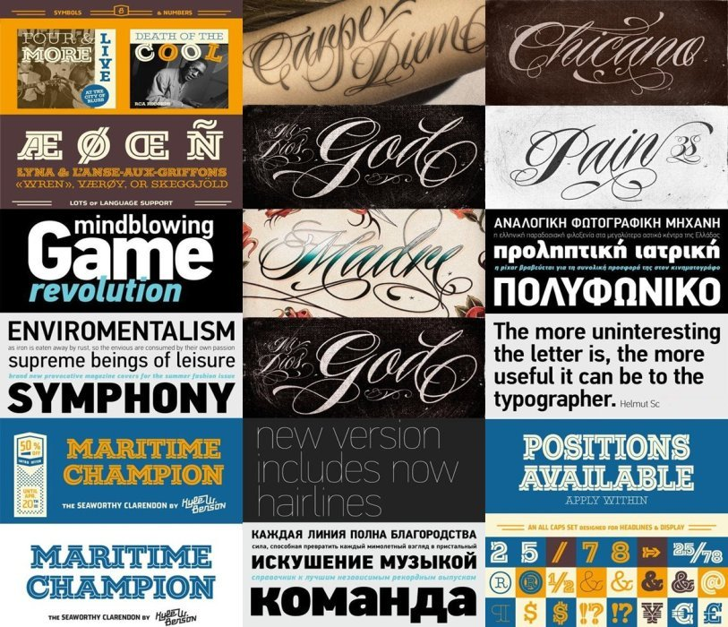Download 25 Fonts Din Text Condensed & Maritime Champion