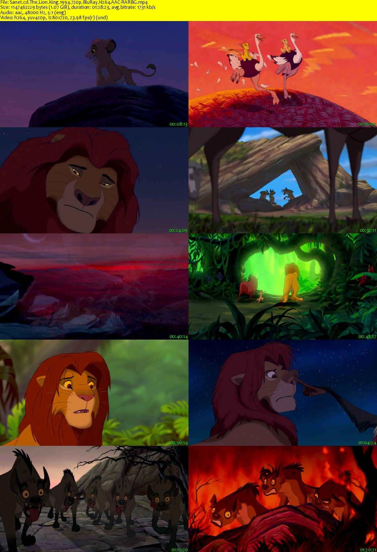 download the lion king 1994 720p bluray h264 aac