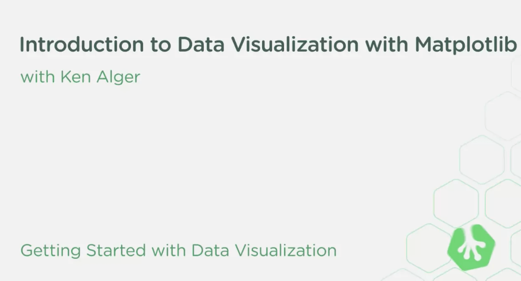 Download Introduction to Data Visualization with Matplotlib